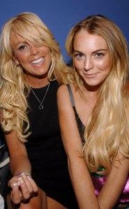 Dina Lohan and Lindsay Lohan