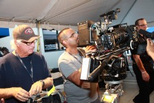 The new Canon C-500 system set-up for a hands-on demo at Loyal Studios