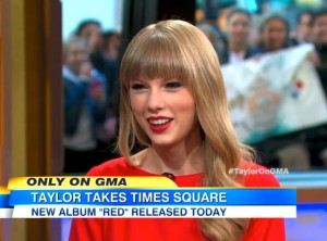 Taylor Swift on Good Morning America