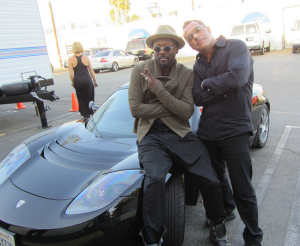 Will I Am and Bob Bekian