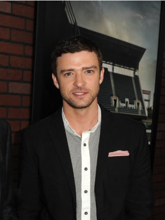 "Justin Timberlake at the premiere of ""Trouble with The Curve"""