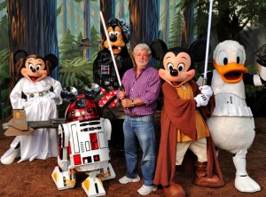 George Lucas in works with Disney for more Star Wars films
