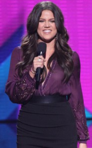 Khloe Kardashian on The X-Factor