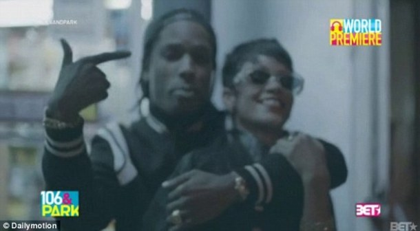 New couple: Rihanna and A$AP Rocky have left tongues wagging on whether they are dating or not