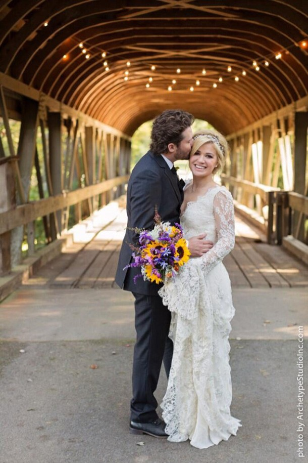 Kelly Clarkson and Brandon Blackstock get married! Photo by Koby & Terilyn Brown, Archetype Studio Inc