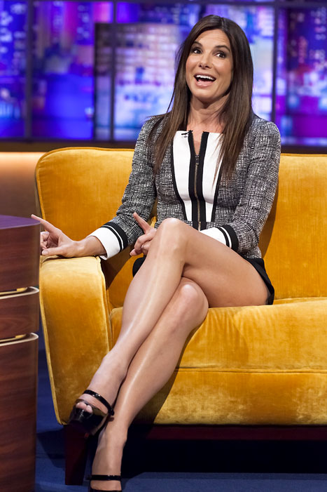 "During a visit to The Jonathan Ross Show on Oct. 12, Sandra Bullock showed off her rapping skills with a performance of Sugarhill Gang's ""Rapper's Delight"""