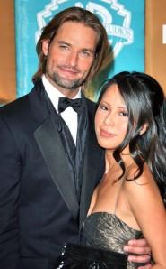 Josh Holloway and wife Yessica Kumala