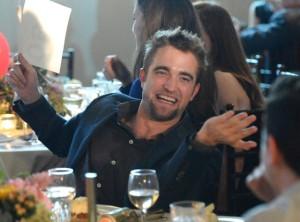 Rob Pattinson at the GO GO Gala
