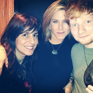 rs_600x600-131129135517-600.Aleen-Keshishian-Jennifer-Aniston-Ed-Sheeran